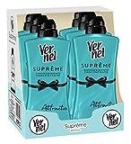 vernel supreme attraction unisex, ammorbidente lavatrice concentrato profumato, 6 confezioni da 1,1 litro