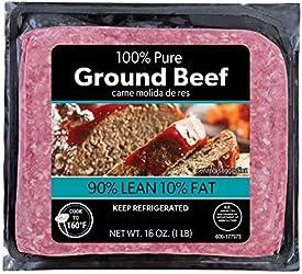 90% Lean Ground, Beef, 16 Oz