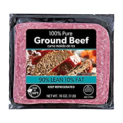 90% Lean Ground, Beef, 16 Oz