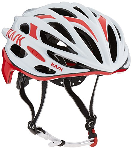 Kask Mojito - White / Red - X-Large