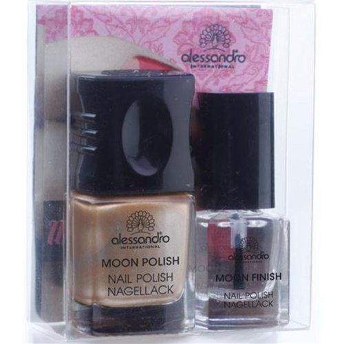 Alessandro Make-up Nagellack Go Magic! Moon Manicure Nr. 602 Fabulous Silver-Blue 1 Stk.