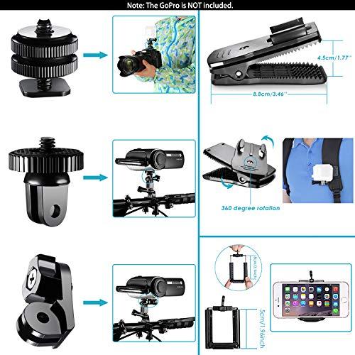 Neewer 53-in-1 Kit for GoPro Hero 7 6 5 4 1 2 3 3+ SJ4000/5000/6000/7000 - 3