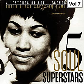 Milestones of Soul Legends: Five Soul Superstars, Vol. 7
