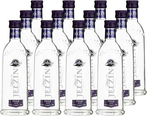 Jelzin Vodka Mit Feige (12 x 0.1 l)
