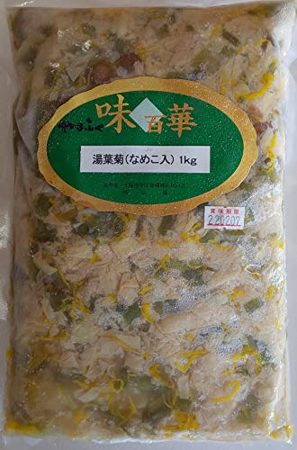 湯葉入り 小鉢 湯葉菊 ( なめこ入り ) 1kg×12P 人気商品 業務用 冷凍