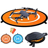 Pista Aterrizaje Drone, Almohadillas de aterrizaje plegables portátiles impermeables Universal D...