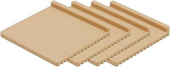ottostyle.jp Non-slip Silicone Mat, Set of 4, Ivory, Non-Slip Sheet, Sofa Slip-proof, Sofa, Anti-Slip, Anti-Slip, Anti-Scratch