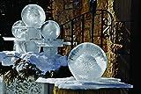Wintercraft Globe Ice Lantern Ultimate Kit Plus LED - Makes 12 Globes Ice Lanterns   Includes 4 Reusable Balloon Shaping Freezing Bases   LED Light Strip   Full Color Step-by-Step Instructions
