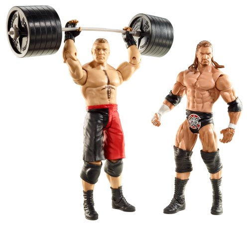 WWE Series 20 Battle Pack: Brock Lesnar vs Triple H Figure, 2