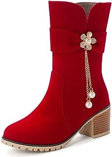 BalaMasa Womens ABS14038 Pu Boots