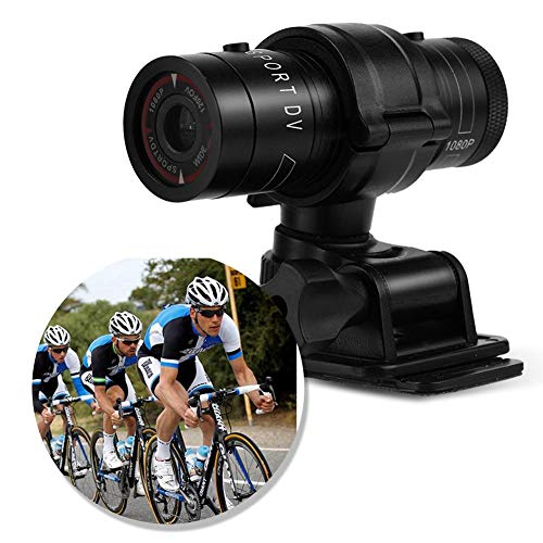 Rosvola Mini cámara DV Deportiva, Full HD 1080P Bike Moto Cámara de Video DVR Impermeable para Deportes al Aire Libre