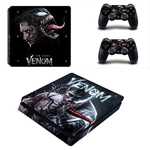 YISHO PS4 Slim Skin Sticker Vinyl For Playstation 4 Console and 2 Controllers PS4 Slim Skin Stickers Decal (YSP4S-2757)