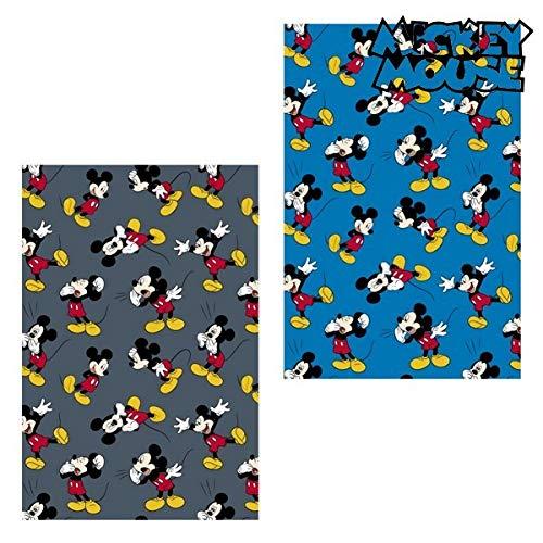 Mickey Mouse Manta, Azul, Talla única, 3