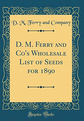 D. M. Ferry and Co