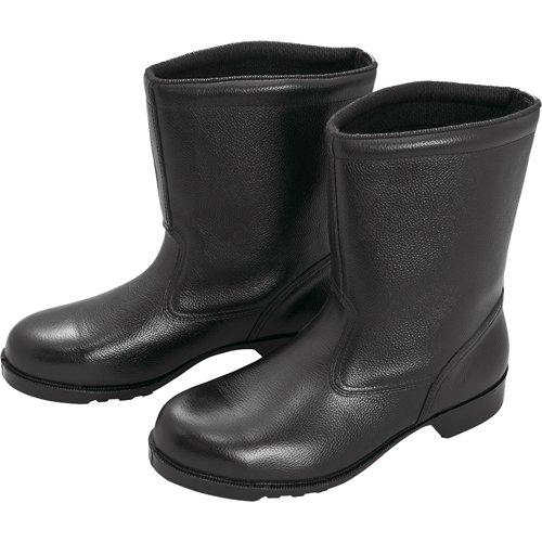 ミドリ安全 ゴム底安全靴 半長靴 V2400N 23.5CM V2400N23.5