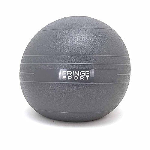 Slam Ball by OneFitWonder - Dead Bounce/Strength Training & Crossfit (20 lb)