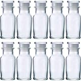 スパイスボトル ワグナー瓶 樹脂キャップ 中栓付-10本セット-