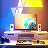 JAKROO LED Luz de Empalme Inteligente Decoración Modulares triángulo Pared Lámparas Colores Aplicación Controlada por Voz Paneles de Luz, 9 Pack
