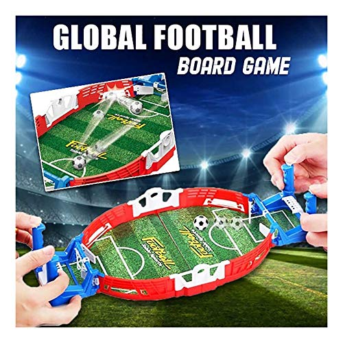 huichang Tischkicker und Zubehör, Tischfussball mit Ball und Spielstandsanzeige, mobiles Tischfußballspiel für Erwachsene und Kinder - Handfußball für Spielzimmer, Spielhallen, Bars, Familienspaß