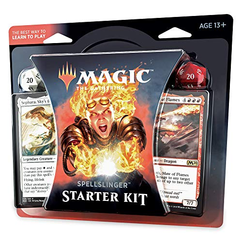 Magic: The Gathering Spellslinger Starter Kit Core Set 2020 (M20) | 2 Starter Decks | 2 Dice | 2 Learn to Play Guides
