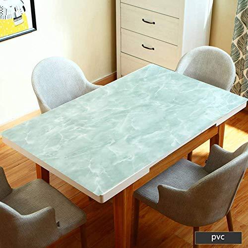 MU Kaffeetisch-Tischdecke, Hochzeitstischdecke, einfach zu säubern PVC-Tischmatte Anti-Kaffeefleck-ölbeständige Partei-Küche, Restaurant-Tischdecke,80 × 120 cm