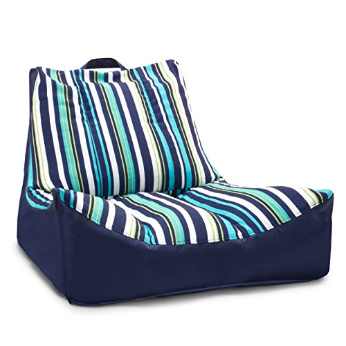 Groovy The Pool Float Is Basically A Big Comfy Bean Bag Chair For Ncnpc Chair Design For Home Ncnpcorg