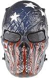N / C Máscara De Airsoft Máscara De Esqueleto De Cara Completa Tácticas Halloween Paintball Cosplay Fiesta BBS Juego De Disparos