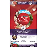 Purina ONE Senior Dry Dog Food, SmartBlend Vibrant Maturity Adult 7+...