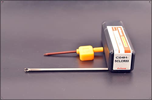 high quality 1pcs C04H-SCLCR03 CNC lathe Solid online sale carbide holder ,Tungsten steel shock turning tool holder Tungsten steel shock alloy Arbor , holder outlet online sale diameter 4mm , holder total length 100mm outlet online sale