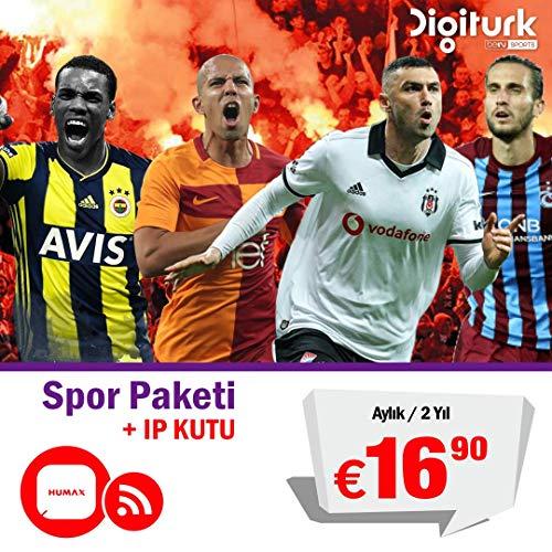 Digitürk Play - IPTV Yurtdışı Avrupa Aile + Bein SPOR Paketi TR + IPTV KUTU