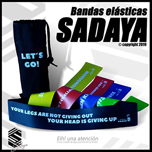 Sadaya - Bandas Elasticas Fitness/Bandas