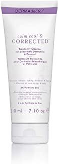 DERMAdoctor Calm Cool Cleanser with Pyrithione Zinc, 6 Fl Oz