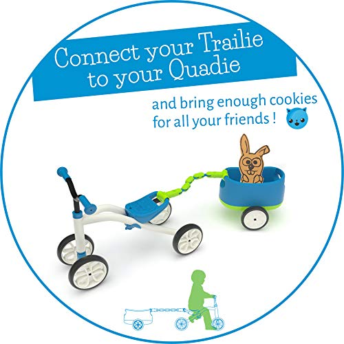 Blue Chillafish QUADIE 4-Wheeler Grow-with-Me Ride-On Quad