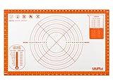 MMmat Extra große Silikon Gebäckmatte mit Messung - Deutsches Silikon - Antihaft...
