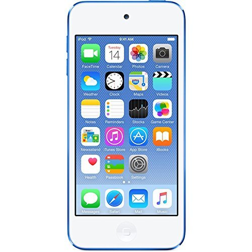Apple iPod touch 64GB WiFi MP3 Player 6th Generation - Blue (Renewed)