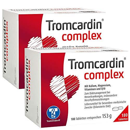 Tromcardin complex 2x180 Tabletten Spar-Set inclusive einer Handcreme von vitenda