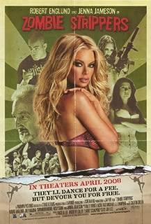 Zombie Strippers Poster Movie 11x17 Robert Englund Jenna Jameson Roxy Saint Joey Medina