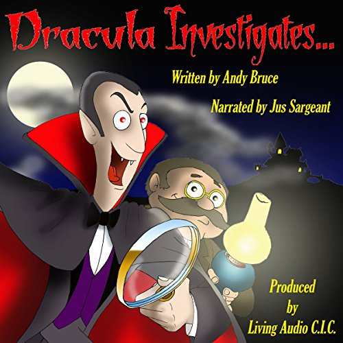 Dracula Investigates.... audiobook cover art