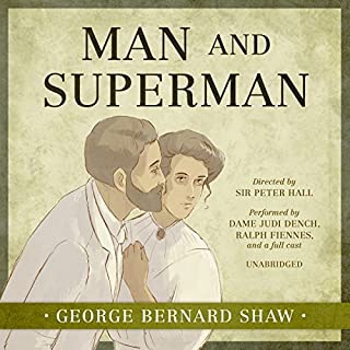 Man and Superman cover art