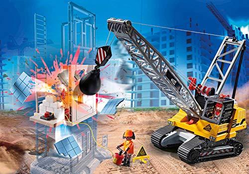 PLAYMOBIL City Action 70442 Excavadora Oruga, A Partir de 5 Años