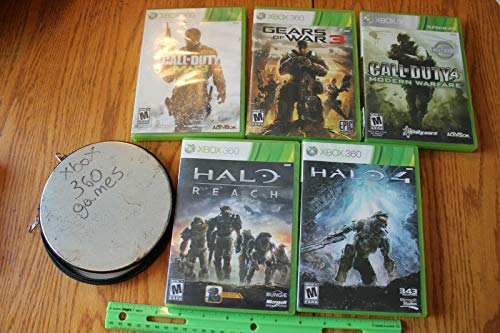 10 Lot of For XBOX 360 Games Call of Duty MW3 4 Gears of War 3 For Halo Reach GTA 5 NBA