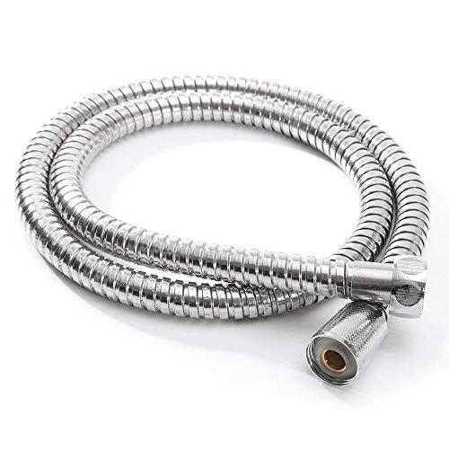 Tubo flessibile per doccia in acciaio inox Benedict leggero flessibile per bagno