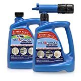 Wet and Forget Outdoor Hose End + Hose End Refill for Up to Additional 2,000SQFT Coverage