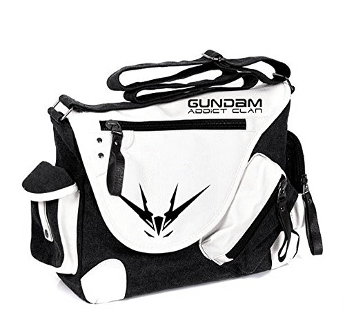 Siawasey, Handtasche / Umhängetasche / Messenger Bag, Motiv: japanischer Anime / Cosplay schwarz Mobile Suit Gundam1