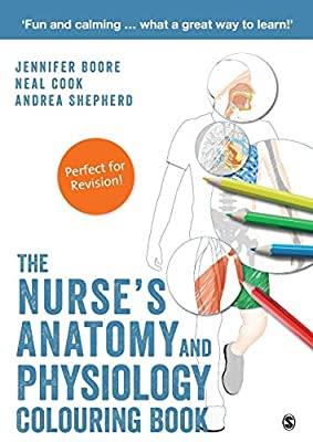 The Nurse's Anatomy and Physiology Colouring Book by SAGE Publications Ltd