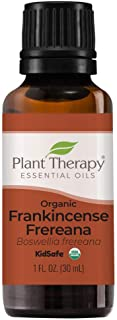 Plant Therapy Organic Frankincense Frereana Essential Oil 100% Pure, USDA Certified Organic, Undiluted, Natural Aromathera...