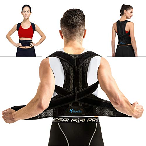 Breathable Back Support Brace