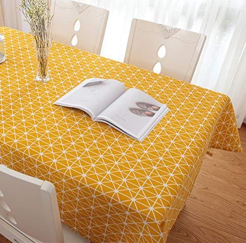 ggzgyz Maison Pays Style Nappe Plaid Imprimer Rectangle Carré Nappe Nappe Textile de Maison Décoration De Cuisine À La Maison