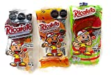 9. Ricaletas Paletas - Ricaleta Mexican Candy Tamarindo lollipops Variety Pack Dulces Mexicanos (24 Count)- Tamarindo, Chamoy, and Watermelon Flavored
