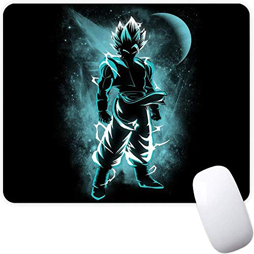 Mouse Pad,Blue Superman Pattern Seamless Waterproof Gaming Anime Gift Mouse Pad Desk Accessories Non-Slip Rubber Mousepad for Laptop and Computer